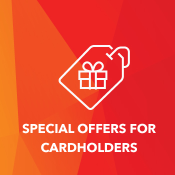 Special Offers for cardholders